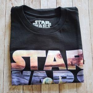 Start wars t-shirt black Start wars tee